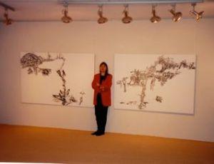 Ariane Laroux expose