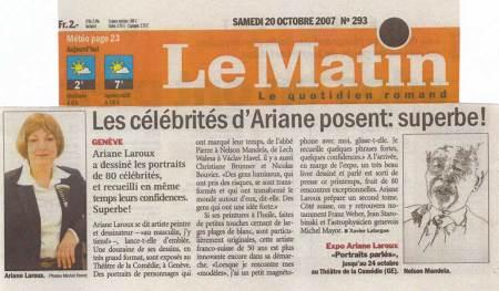 Ariane Laroux célébrités